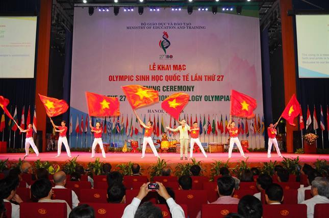 ca khúc việt nam ơi được biểu diễn trong lễ khai mạc ibo lần thứ 27 -